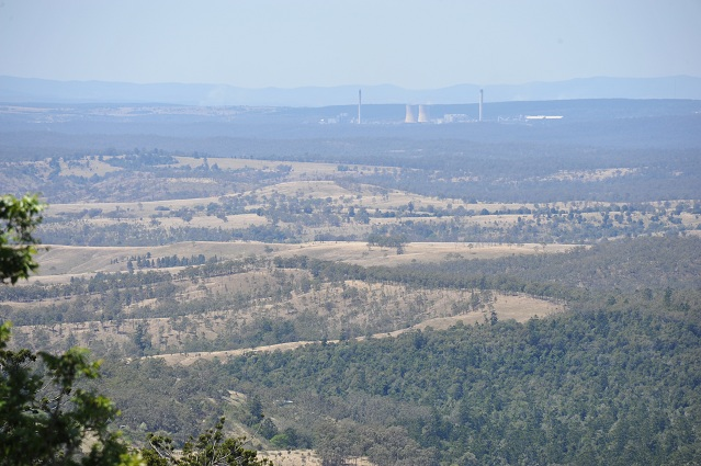 view from Pine Gorge Lookout
