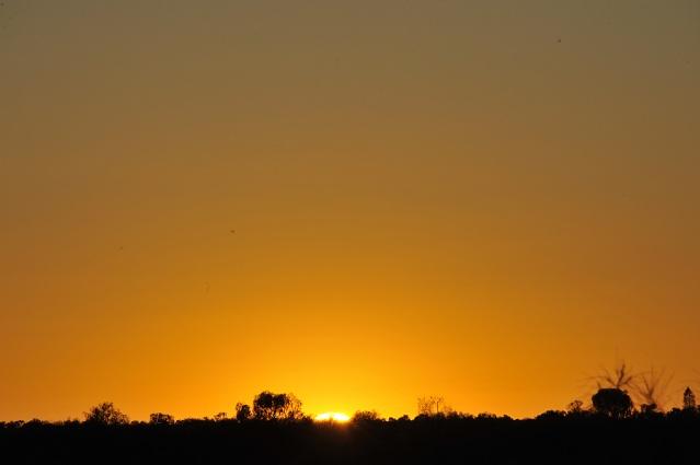 sun coming