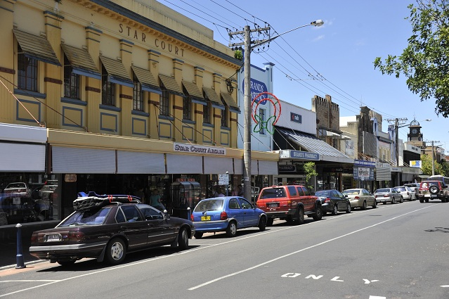 Lismore streets