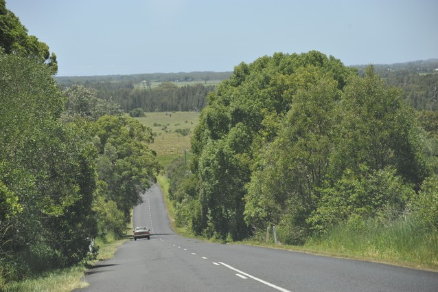 Road from Lismore