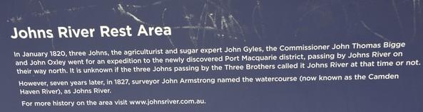 John River name